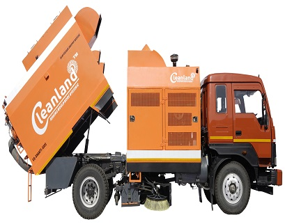 Truck Mounted Road Sweeper Machine