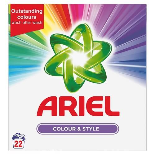 Ariel Color and Style Detergent 1.43 Kg Pack